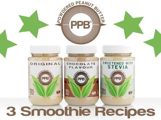 PPB® 3 Smoothie Recipes