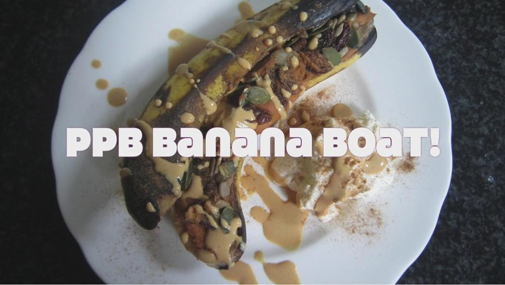 PPB Baked Banana Boat
