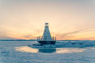 South Lighthouse, Burlington Breakwater, Burlington Vermont