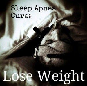Will losing weight cure my sleep apnea?