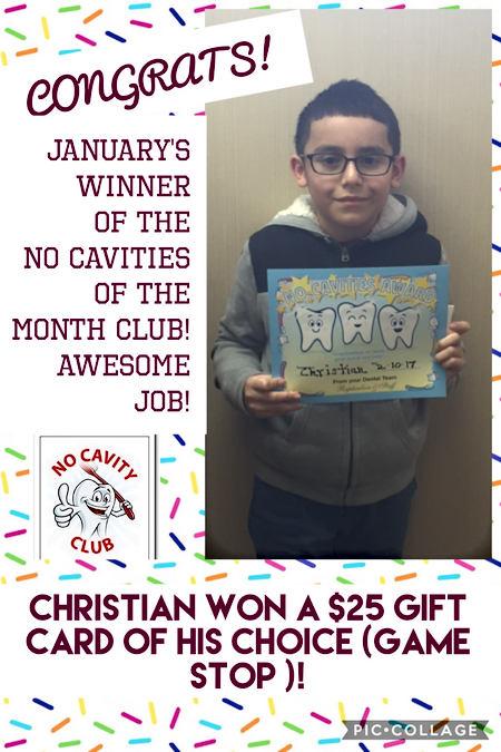 Congratulations Christian