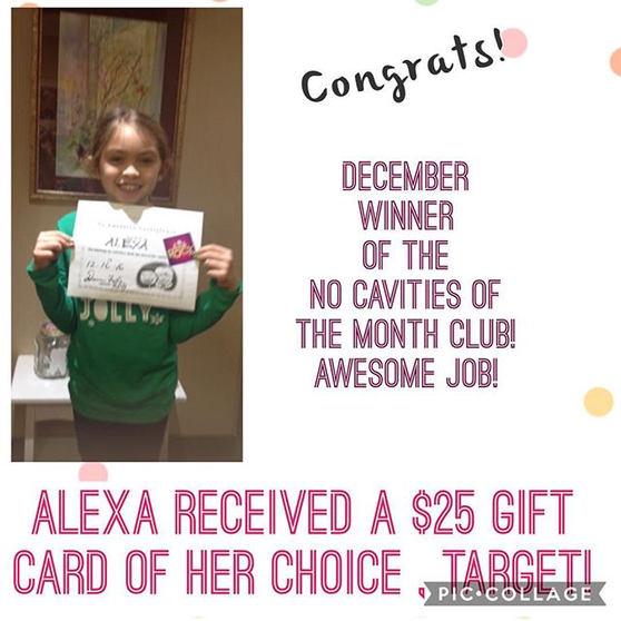 Congrats Alexa!