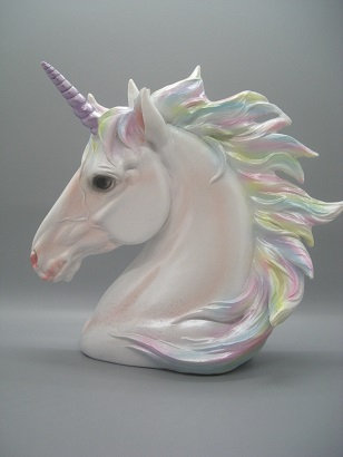 Poly resin Unicorn