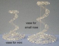 Vase for mini and small roses