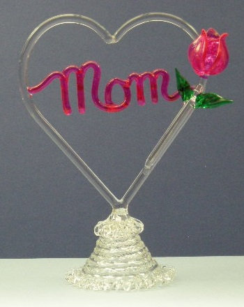 Mom, Grandma, Love You heart or plaque