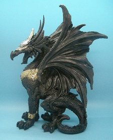 Poly resin dragons