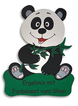 Geburtstafel Panda