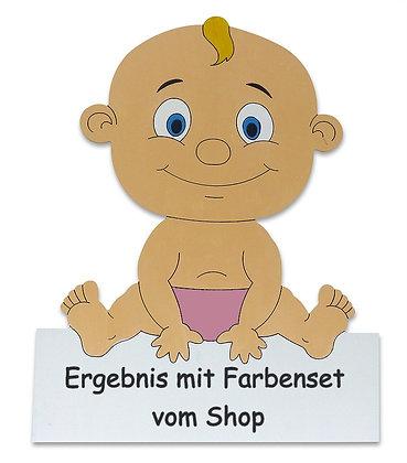 Geburtstafel Baby Mädchen