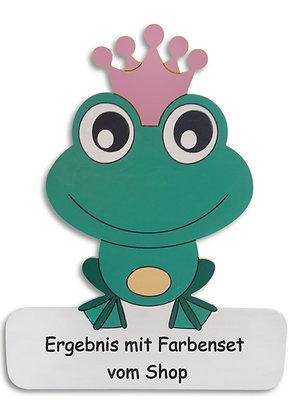 Geburtstafel Froschkönigin