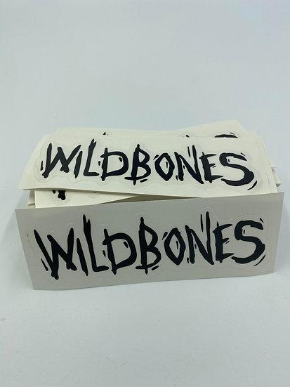 Wildbones Sticker