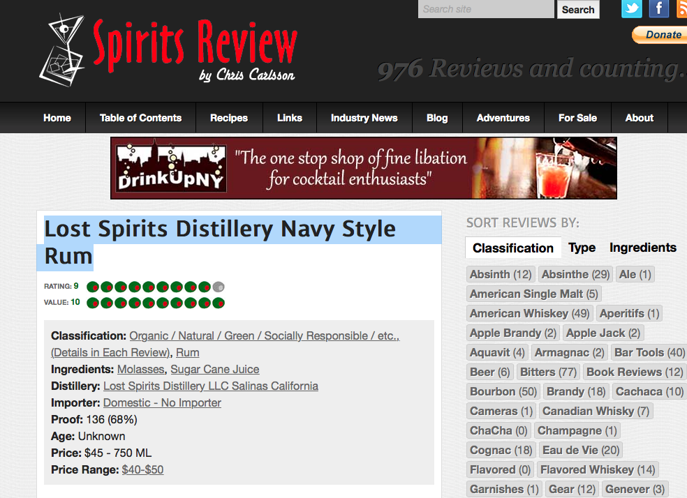 Spirits Review