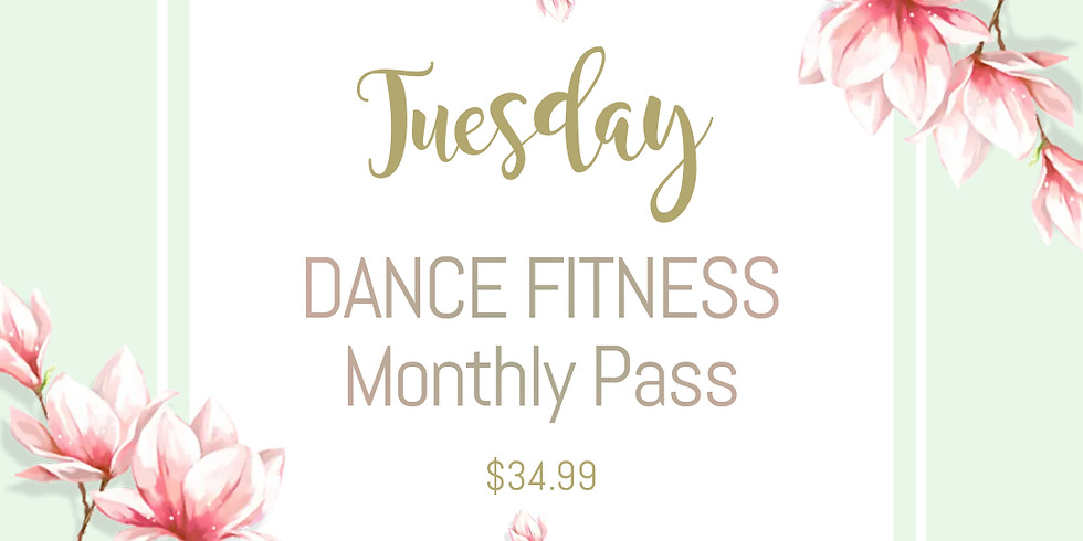 [ Monthly Pass Tuesday ] Dance Fitness in May