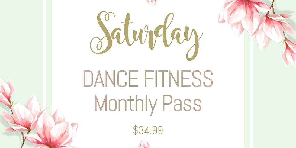 [ Monthly Pass for Saturday ] Dance Fitness in May