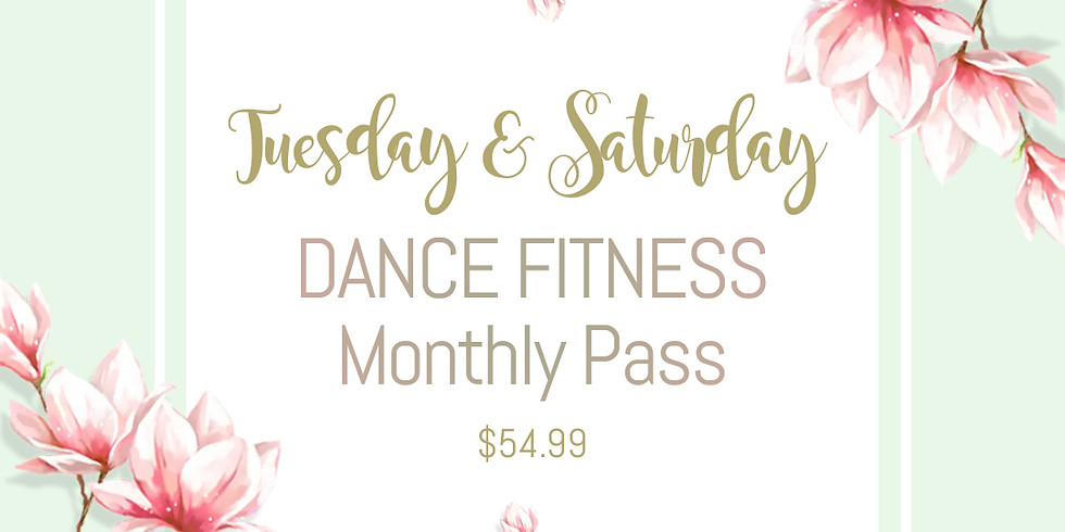 [ Monthly Pass for Tue & Sat ] Dance Fitness in May