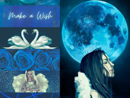August's Blue Full Moon