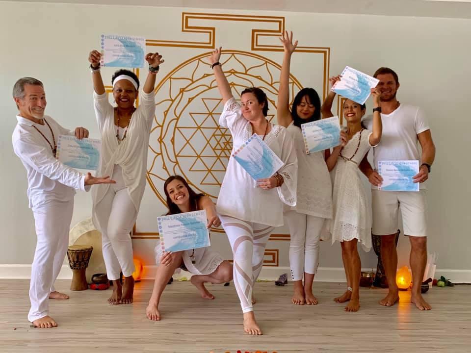 Celebrate Graduating Yoga Teacher Training
