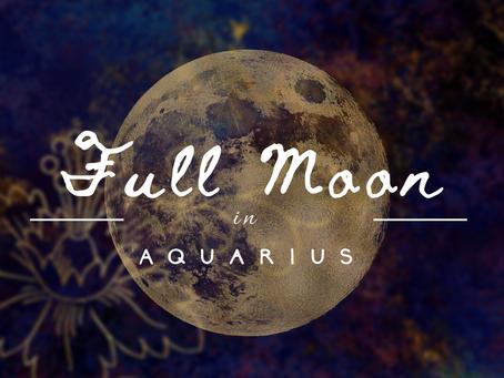 Full Moon Musings... July 23rd, 2021