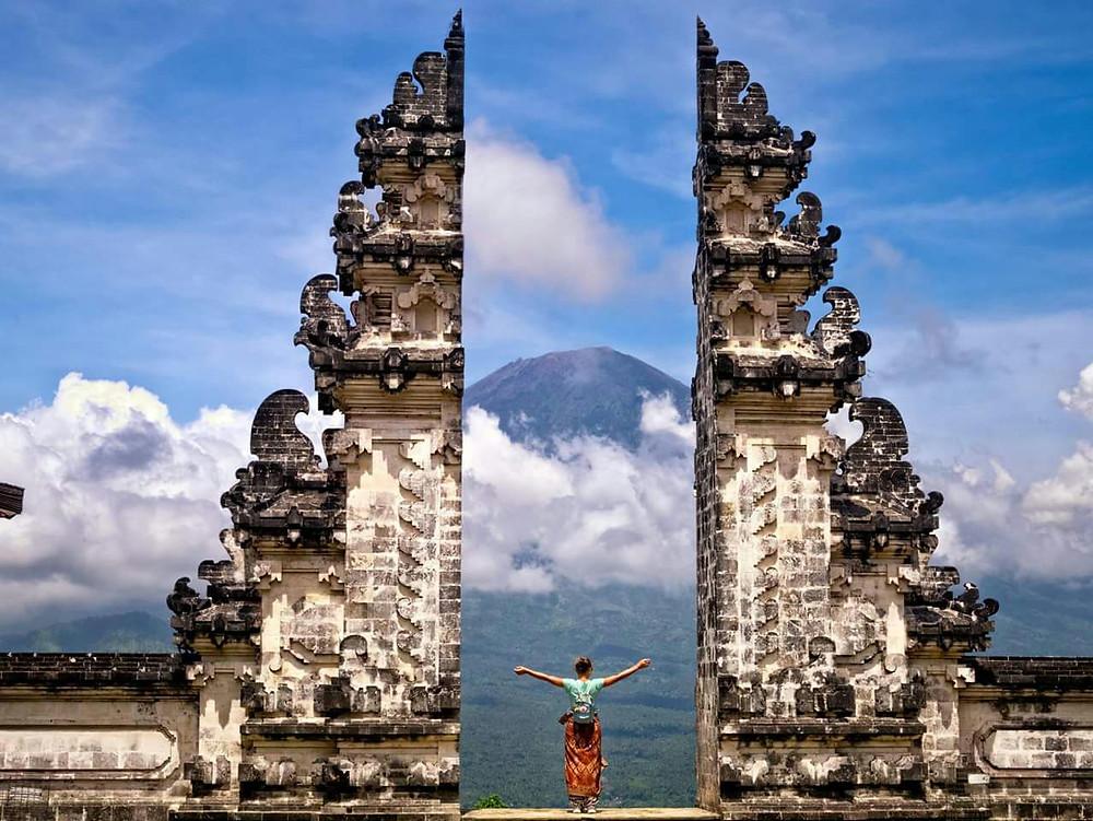 Bali Temple During Yoga Teacher Training