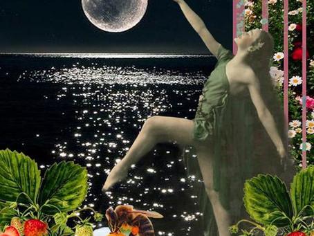 June's Strawberry Full Moon