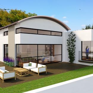 פרוייקט בתכנון- בית במתן