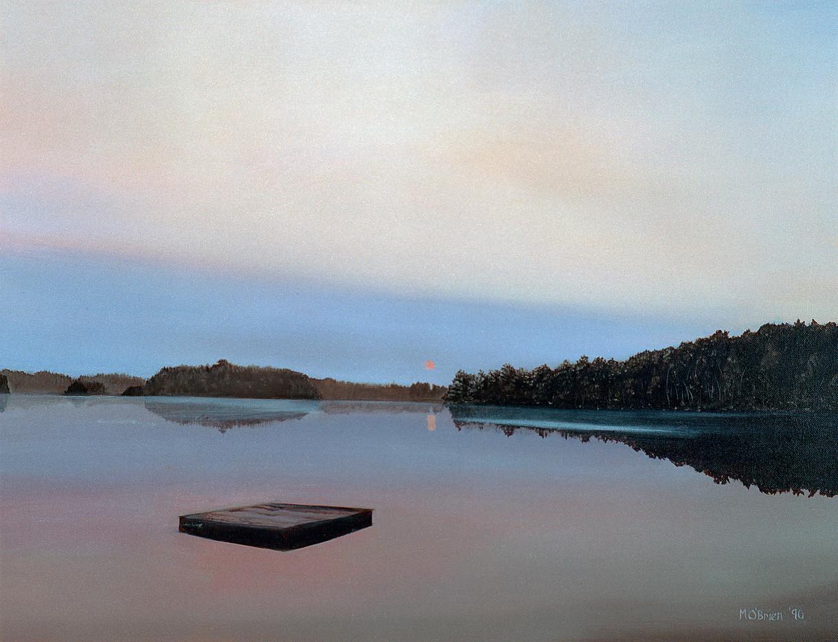 Adam's Lake Summer 1989