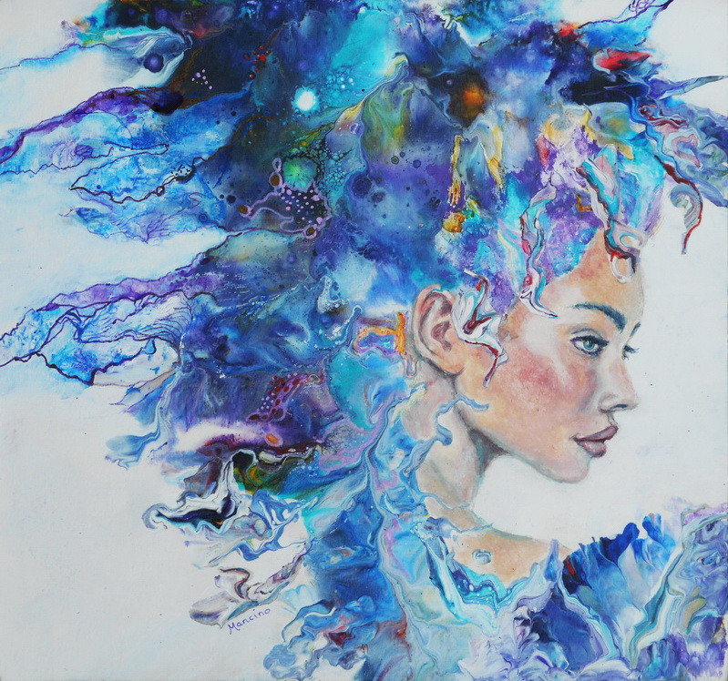 Headwinds Carnaval, 9.5 x 10 in, acrylic