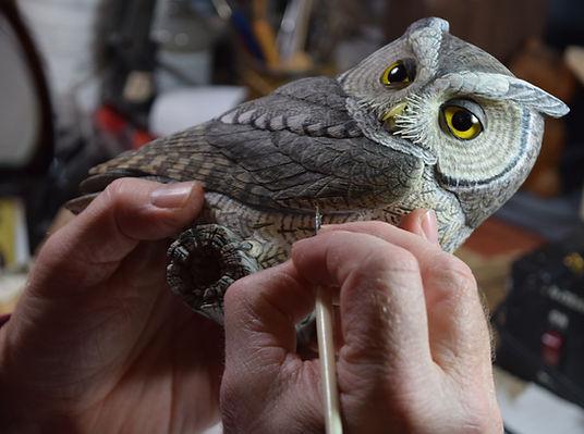 Screech Owl #9 - Ted Stewart.JPG