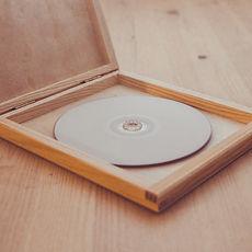 Bristol wedding films custom personal wooden DVD box video