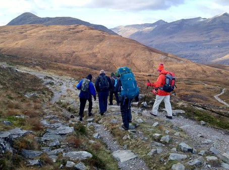 Friendship on the West Highland Way