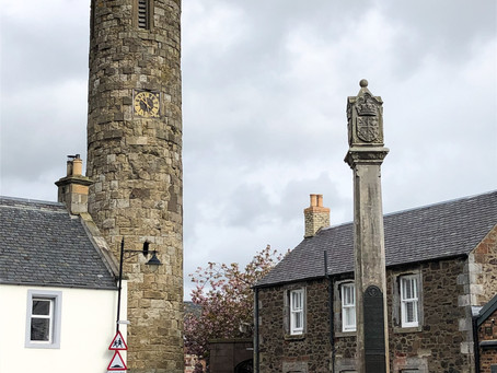 Abernethy Round Tower and Pictish Stone