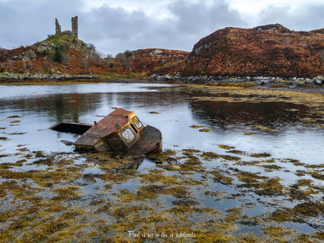 Caisteal Maol, on the Shores of Skye