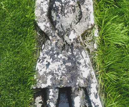 Angus Martin's Grave on the Isle of Skye