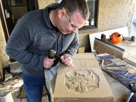 An Afternoon with David McGovern, Pictish Stone Carver