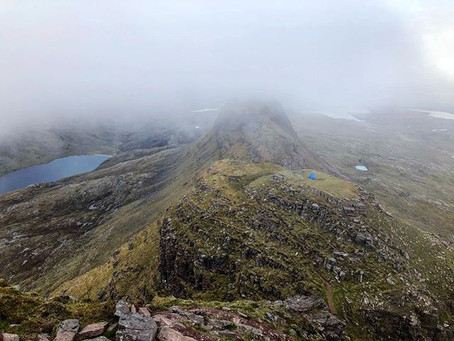 Camping on Top of Suilven