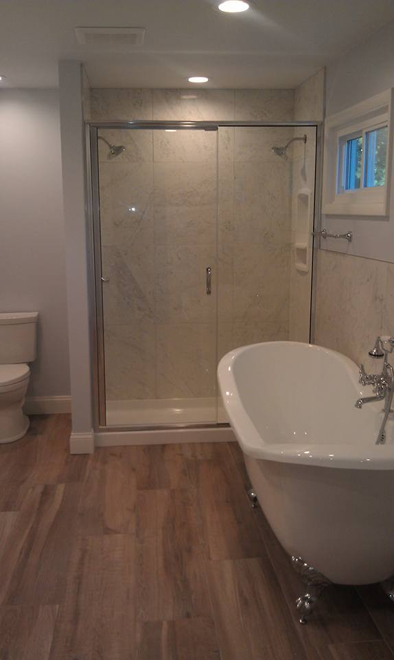 This time of year is a great time to remodel your bathroom, call us about installing a new shower door