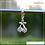 Thumbnail: Berloque zircônia cereja