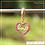 Thumbnail: Berloque zircônia coração love rosa