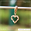 Thumbnail: Berloque zircônia coração navetes