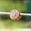 Thumbnail: Berloque zircônia separador redondo