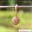 Thumbnail: Berloque zircônia círculo 3 corações
