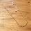 Thumbnail: Corrente corações 45 cm
