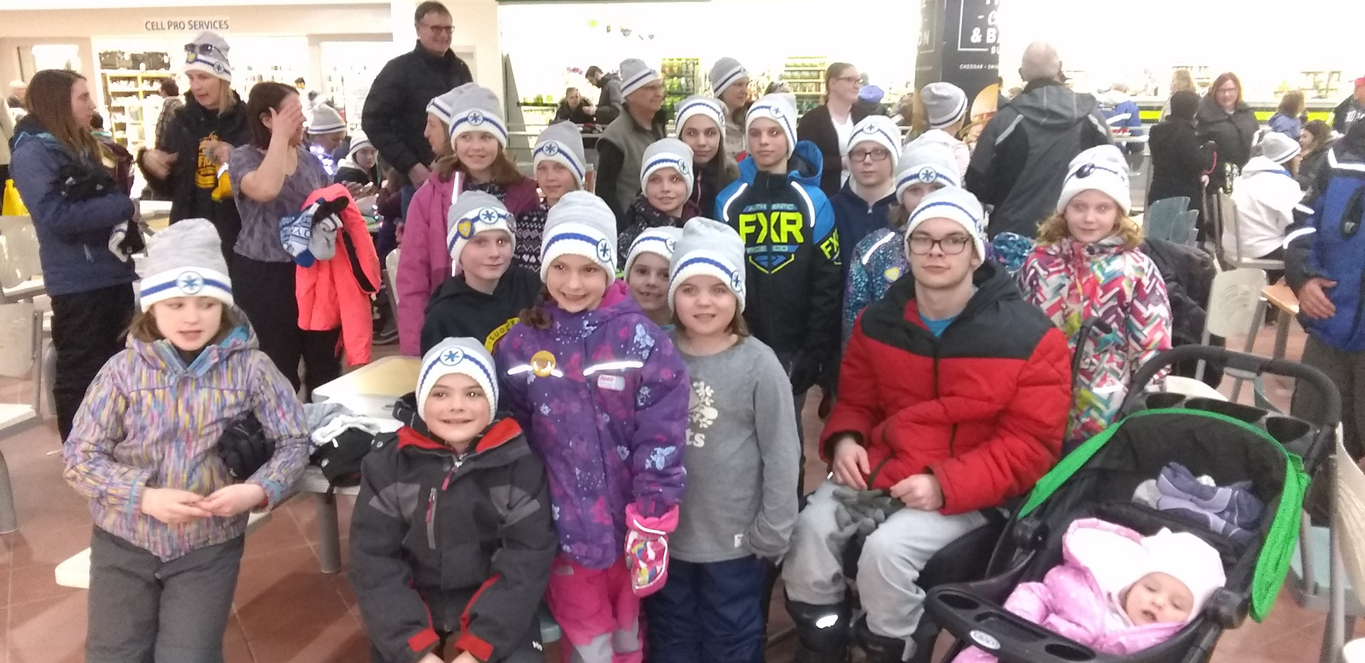 The Kids who were on the Coldest Night of the Year Team