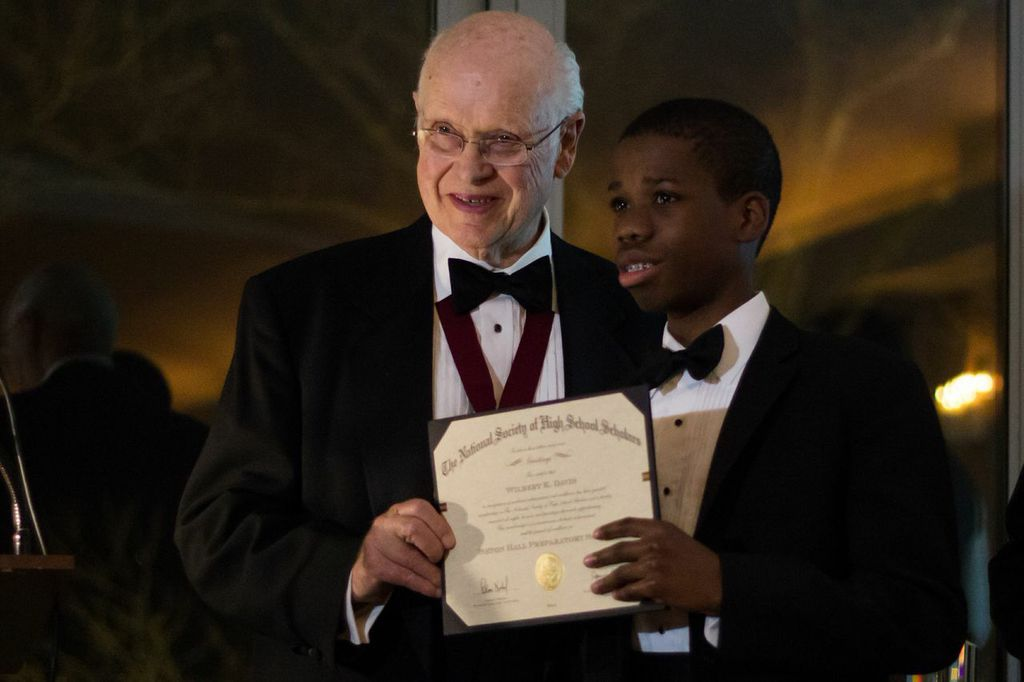 Claus Nobel with SCIP Young Leader at Awards Gala