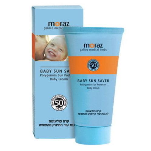 Солнцезащитный детский крем SPF 50 (50 мл)   Moraz   Прямые поставки