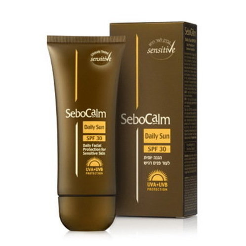 Дневной солнцезащитный крем SPF30   SeboCalm Daily Sun   Цена