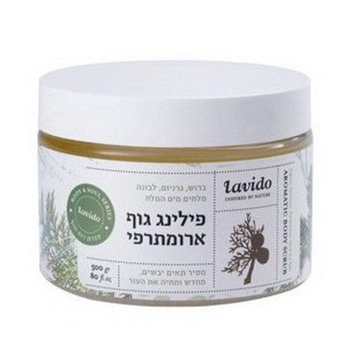 Скраб для тела с ароматом герани и ладана   Lavido   Прямые поставки
