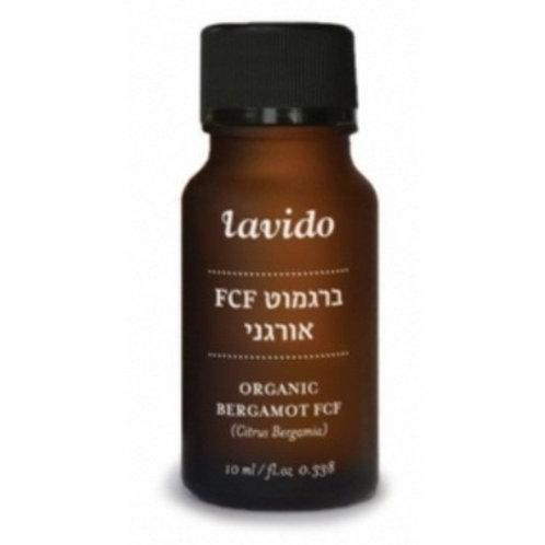Органическое эфирное масло бергамота FCF | Lavido | Натуральный состав