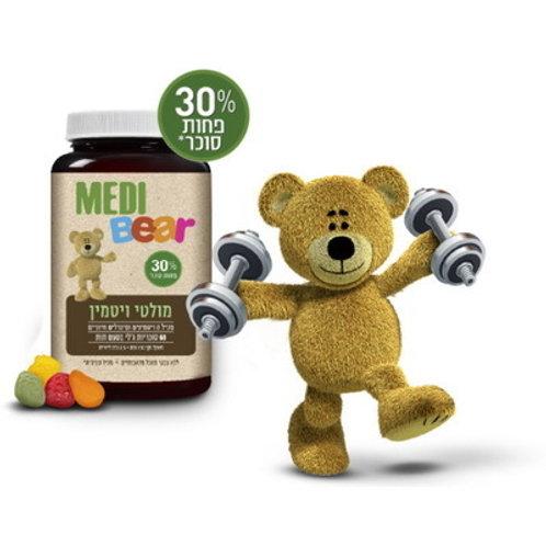 Мультивитамины для детей | MediBear Multi Vitamin | Натуральный состав
