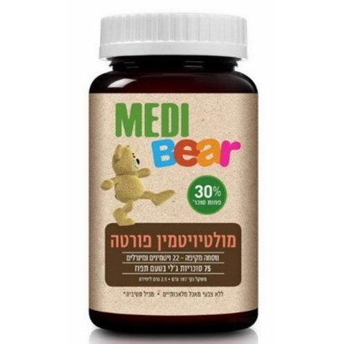 Мультивитамины для детей   MediBear Multivitamin Forte   Купить