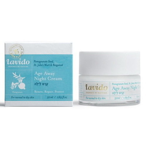 Антивозрастной ночной крем с маслом граната | Lavido | Узнать цену